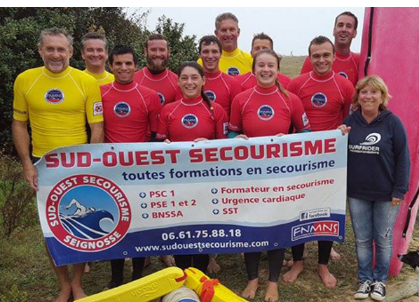 Formation SSA Littoral Sud-Ouest Secourisme